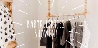 Babykleding kledingrek kinderkamer kinderkleding