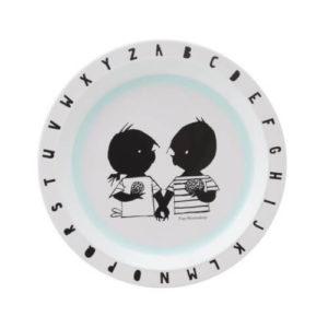 plastic baby bordje jip en janneke letters