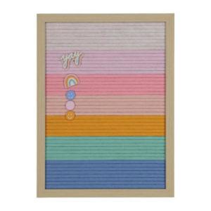 letterbord vilt regenboog hema kinderkamer